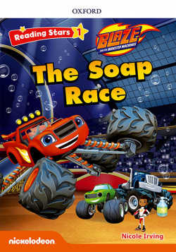 BLAZE THE SOAP RACE WITH MP3 PACK READING STARS 1