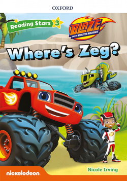 Reading Stars 3. Blaze Where's Zeg MP3 Pack