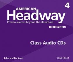 (CD).(17).AMERICAN HEADWAY 4 (CLASS CD) (3ªED)