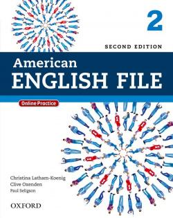 AMERICAN ENGLISH FILE 2 SB PK 2ED