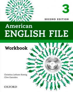 AMERICAN ENGLISH FILE 3 WB W/O PK 2ED