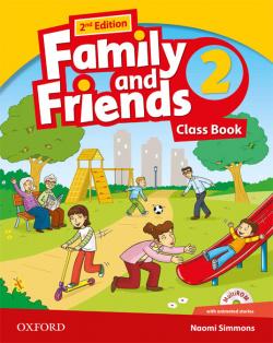 (14).FAMILY & FRIENDS 2º.PRIM.(CLASSBOOK+CD).2ªED