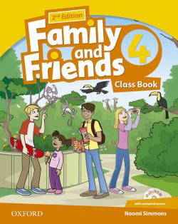 (14).FAMILY & FRIENDS 4º.PRIM.(CLASSBOOK+CD).2ªED