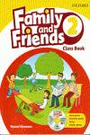 ^^ANT/(10).FAMILY AND FRIENDS 2.(CLASSBOOK+CD) (2º.PRIMARY)