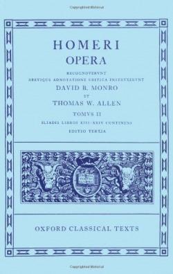 HOMER VOL.II ILIAD (BOOKS XIII-XXIV) OPERA