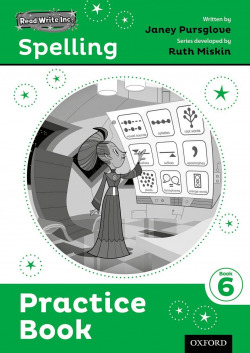 (PACK 5).READ WRITE INC.SPELLING PRACTICE BOOK 6