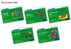 Read Write Inc - Phonics Set 1A Green Story Books - Colour Pack of 50