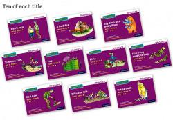 Read Write Inc - Phonics Set 2 Purple Story Books - Colour Pack of 100