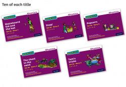 Read Write Inc - Phonics Set 2A Purple Story Books - Colour Pack of 50