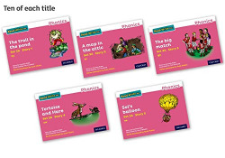 READ WRITE INC.PHONICS:PINK SET 3A STORYBOOK PACK OF 50