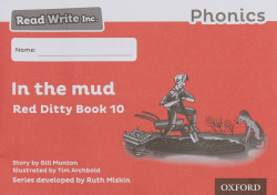 READ WRITE INC.PHONICS:BLACK AND WHITE RED DITTY BOOKS 100