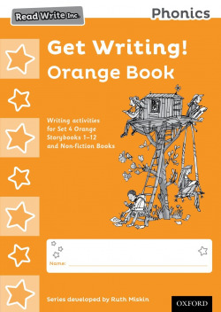 PACK 10 READ WRITE INC.PHONICS:GET WRITING ORANGE BOOK