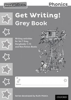 Read Write Inc. Phonics: Get Writing!: Grey Book Pack of 10