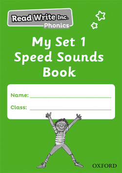 Read Write Inc - Phonics My Set 1 Speed Sounds Book Pack of 5