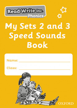 Read Write Inc - Phonics My Sets 2 and 3 Speed Sounds Book Pack of 5