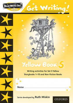Read Write Inc. Phonics: Get Writing!: Red Ditty Books 6-10