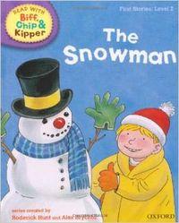 SNOWMAN (LEVEL 2) READ WITH BIFF, CHIP & KIPPER