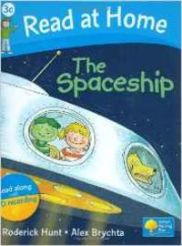SPACESHIP BOOK (+CD) (3C.READ AT HOME)