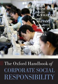 Oxford handbook of corporate social responsability