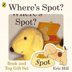 where's spot? book and toy gift set
