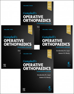 CAMPBELL'S OPERATIVE ORTHOPAEDICS 4 VOL.