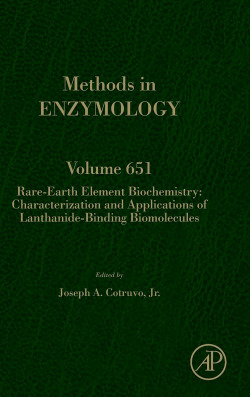 RARE-EARTH ELEMENT BIOCHEMISTRY:CHARACTERIZATION VOL.651