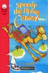 Speedy the flying camel