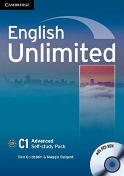 ENGLISH UNLIMITED ADVANCED WORKBOOK+CD SELF-STUDY
