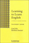 LEARNING TO LEARN ENGLISH.TCHS -PROFESOR- CAM