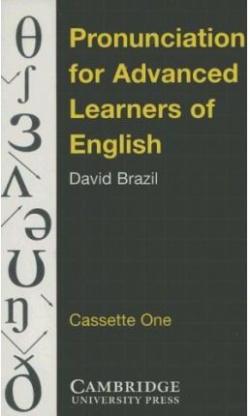 K7.PRONUNCIATION ADVANCED LEARNERS OF ENGLISH.CASSETTES