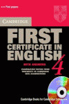 (4.ST+KEY+CD).CAMB.FIRST CERTIFICATE ENGLISH