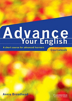 ADVANCE YOUR ENGLISH.ST