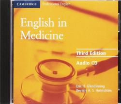 (AUDIO CD).ENGLISH IN MEDICINE (AUDIO CD)/3A.ED