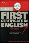 CAMBRIDGE FIRST CERTIFICATE ENG.7.(SELF STUDY PACK)