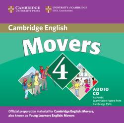 Cambridge movers 4 cd