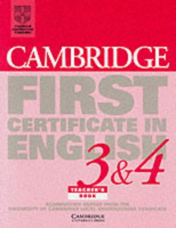 3&4.(TCH)/CAMB.FIRST CERTIFICATE ENGLISH