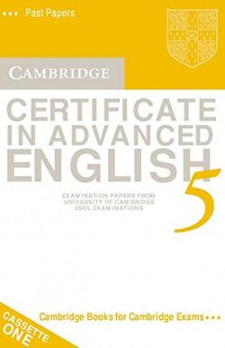 5.K7/CAMB.CERTIFICATE ADVANCED ENGLISH