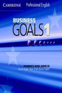 BUSINESS GOALS 1.CD AUDIO