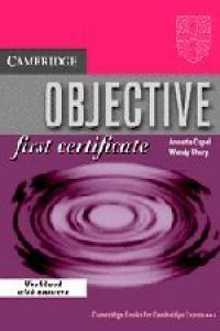 ANT/O BJECTIVE F IRST C ERTIFICATE.WB (+KEY)