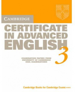 3.ST/CAMB.CERTIFICATE ADVANCED ENGLISH