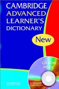 Cambridge advanced learner´s dictionary