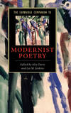 CAMB COMPANION MODERNIST POETRY