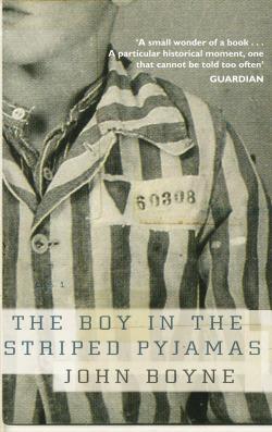 Boy in striped pyjama