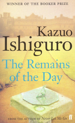 (ishiguro).remains of the day (faber)