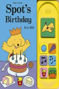 Spot's birthday sound book