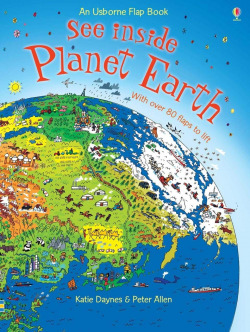 See inside planet earth