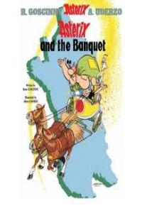 5.ASTERIX AND THE BANQUET (INGLES).RUSTICA