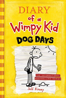 4.Diary os a Wimpy kid:dog days