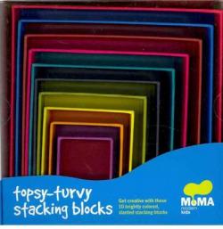 Moma topsy-turvy stacking blocks
