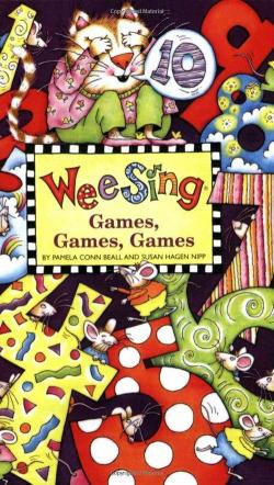 (beall).wee sing games games.(book + cd)